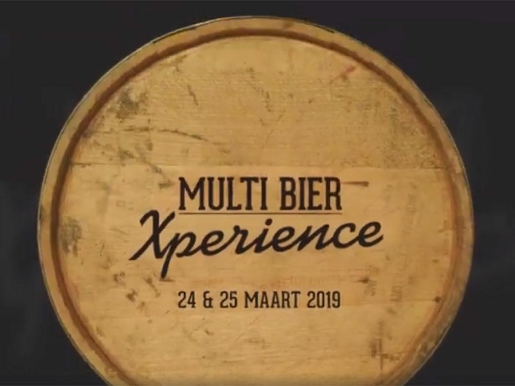 Multi Bier Xperience 24 en 25 maart 2019