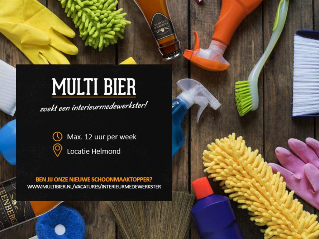 Multi Bier zoekt een interieurmedewerkster
