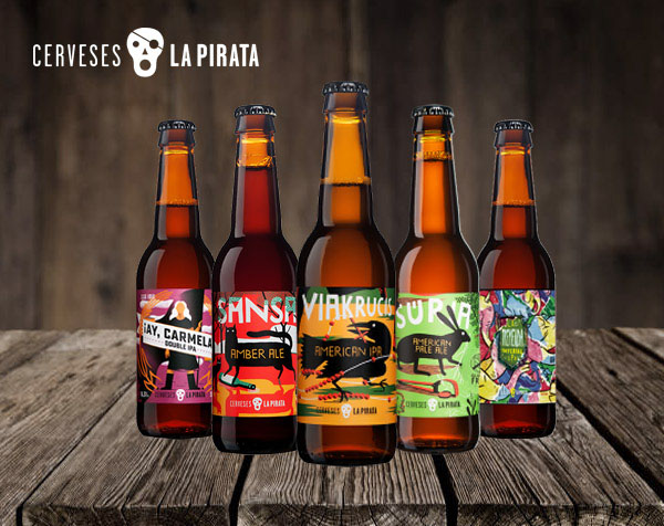 Cerveses La Pirata en Multi Bier