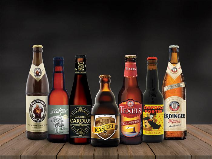 Multi Bier werkt samen met veel speciaalbierleveranciers