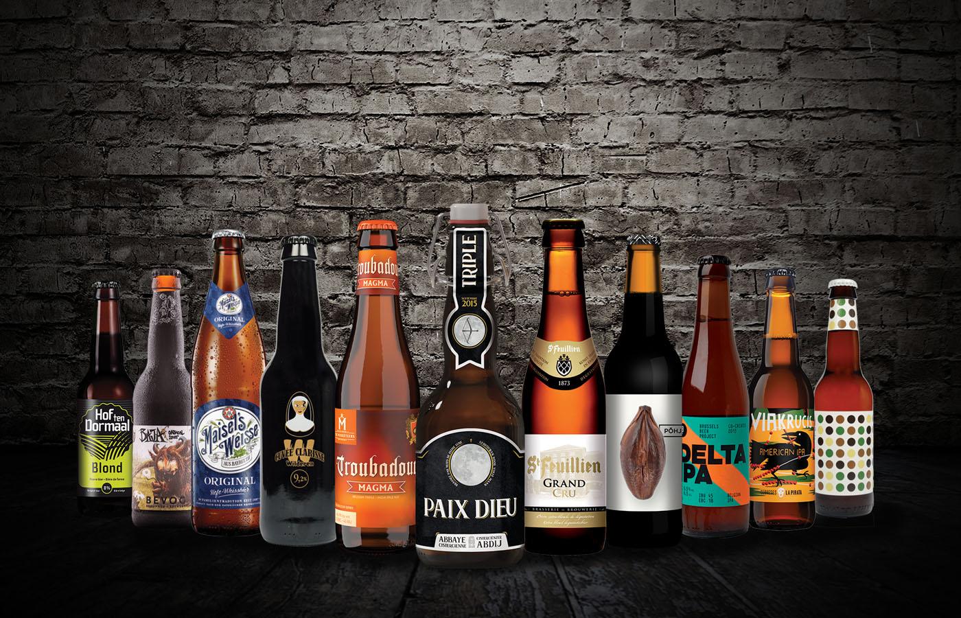 Multi Bier is een groothandel met het grootste assortiment speciaalbieren